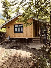 کلبه چوبی جنگلی کتیبه 1