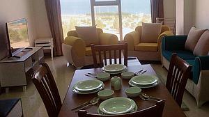 اجاره روزانه آپارتمان مبله در قشم - مجتمع سام VIP یه خواب