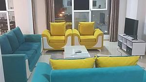 اجاره آپارتمان مبله در قشم - مجتمع سام VIP سه خوابه ویودریا