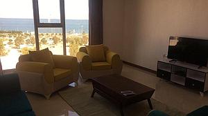 اجاره آپارتمان در قشم - مجتمع سامVIPدوخواب ویودریا