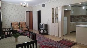 آپارتمان مبله دو خوابه شیک در همدان
