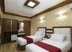 اجاره هتل در قزوین
