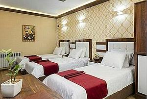 رزرو آنلاین هتل قزوین